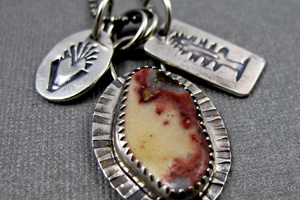 Agate Charm Necklace