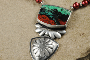 Sonoran Sunrise Necklace by Raminta Jautokas