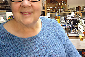 Corliss Rose, Metalsmith and Polymer Clay artist, Instructor